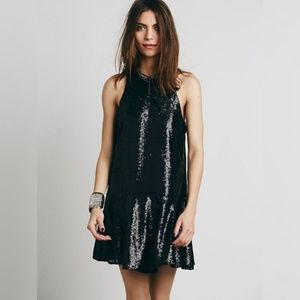 Free People • Liquid Shine Sequin Mini Dress